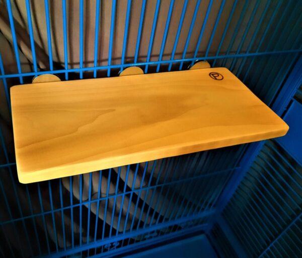Very Large Flat Perch Shelf 8 x 16