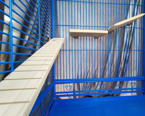 Small Bird Ramps by Flat Perch