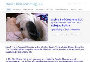 Mobile Bird Grooming